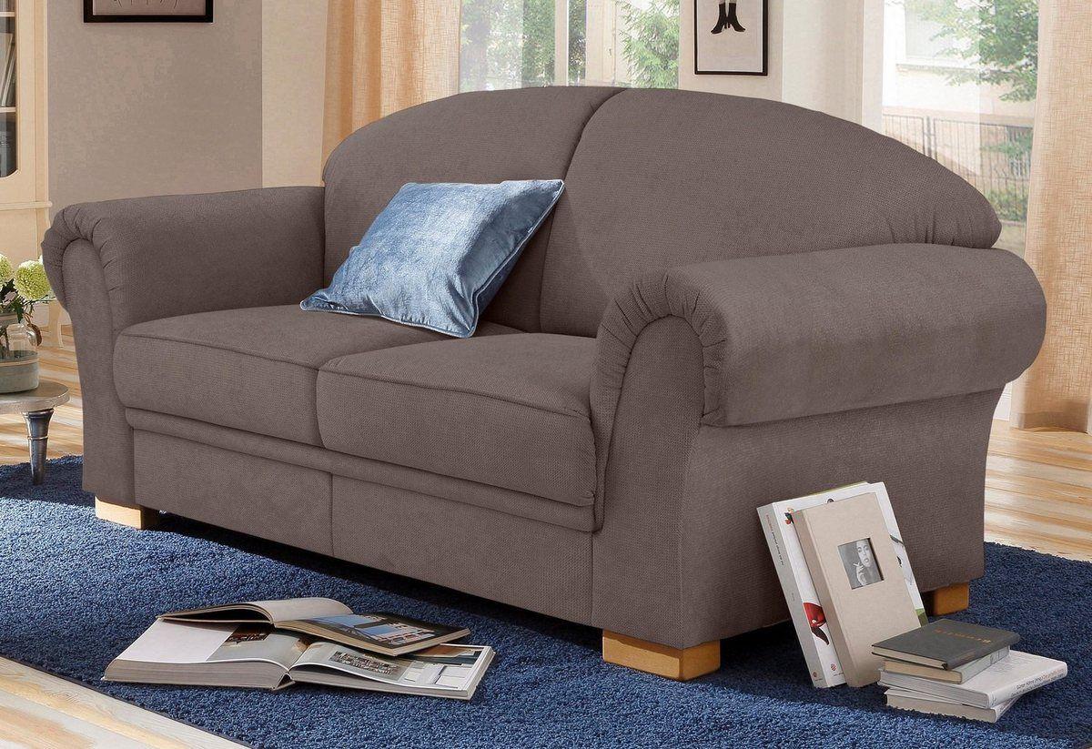 2 Sitzer Amrum Mit Federkern Sofa Beige 2 Sitzer Sofa Und Sofa