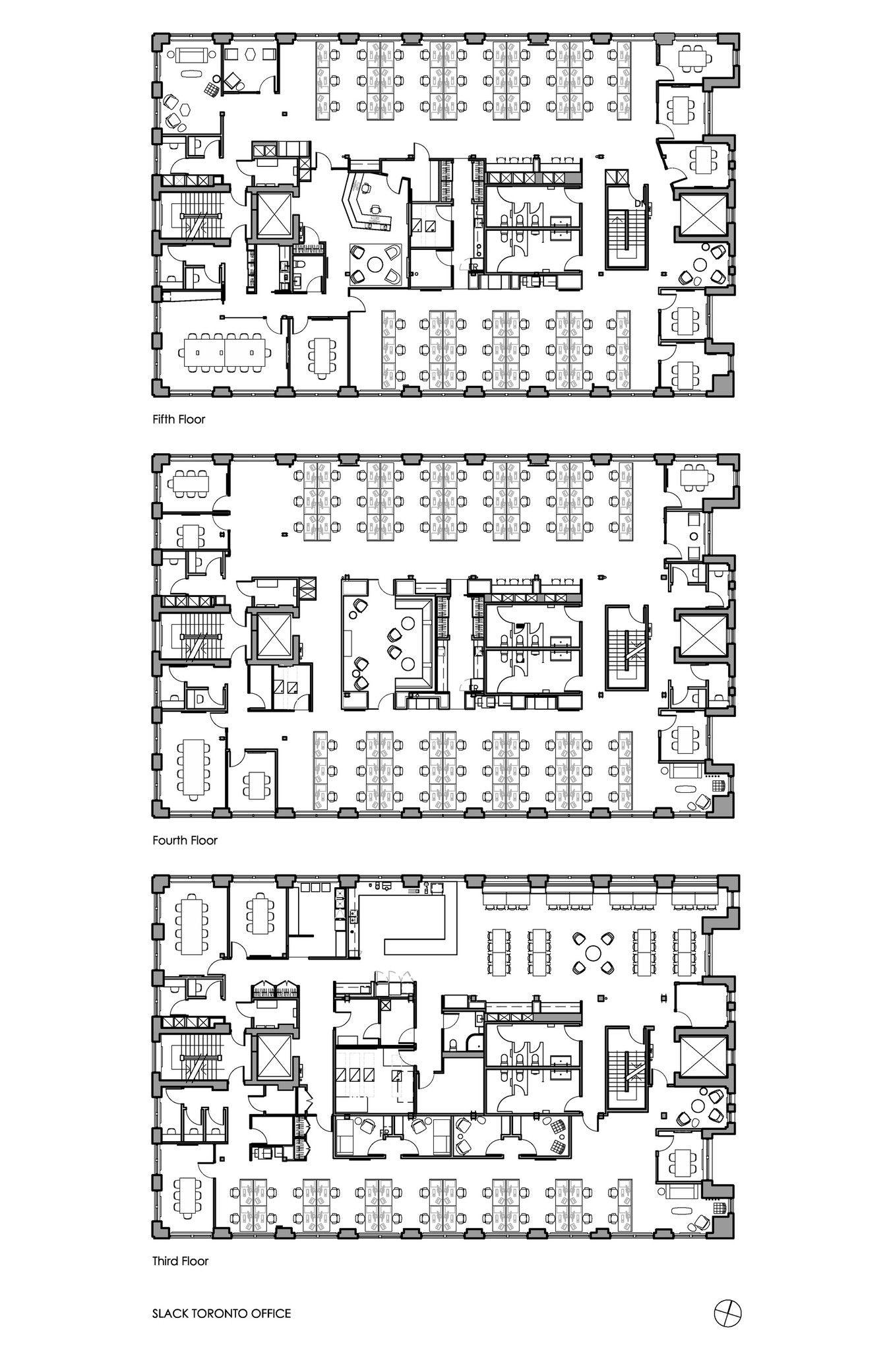 Slack Toronto Office Dubbeldam Architecture Design Arch2o Com Office Floor Plan Office Building Plans Building Design Plan