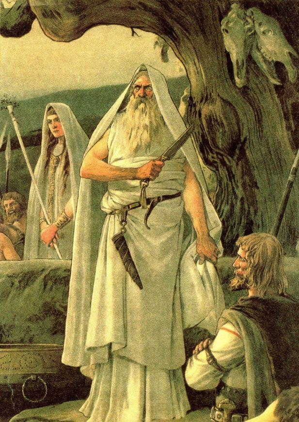 Druid Priest Celtic Druids Celtic Myth Druid