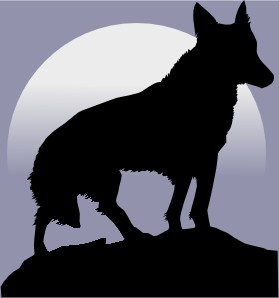Wolf 13 Clip Art