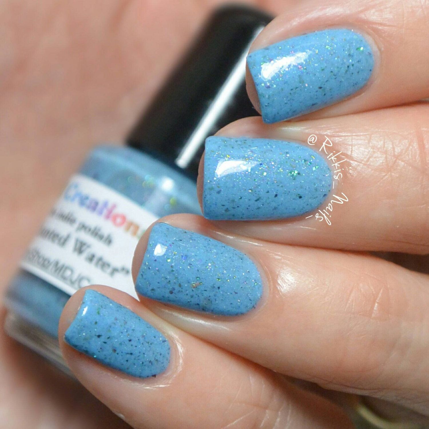 New! Enchanted Water ~ Blue Turquoise Shimmer Multichromatic ...
