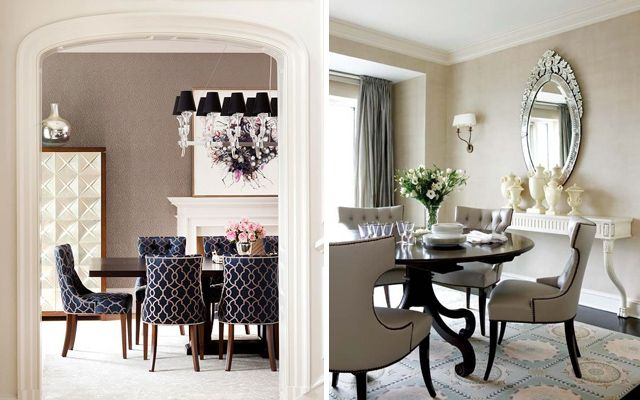 Comedores elegantes ideas para decorar el comedor for Como decorar una casa elegante