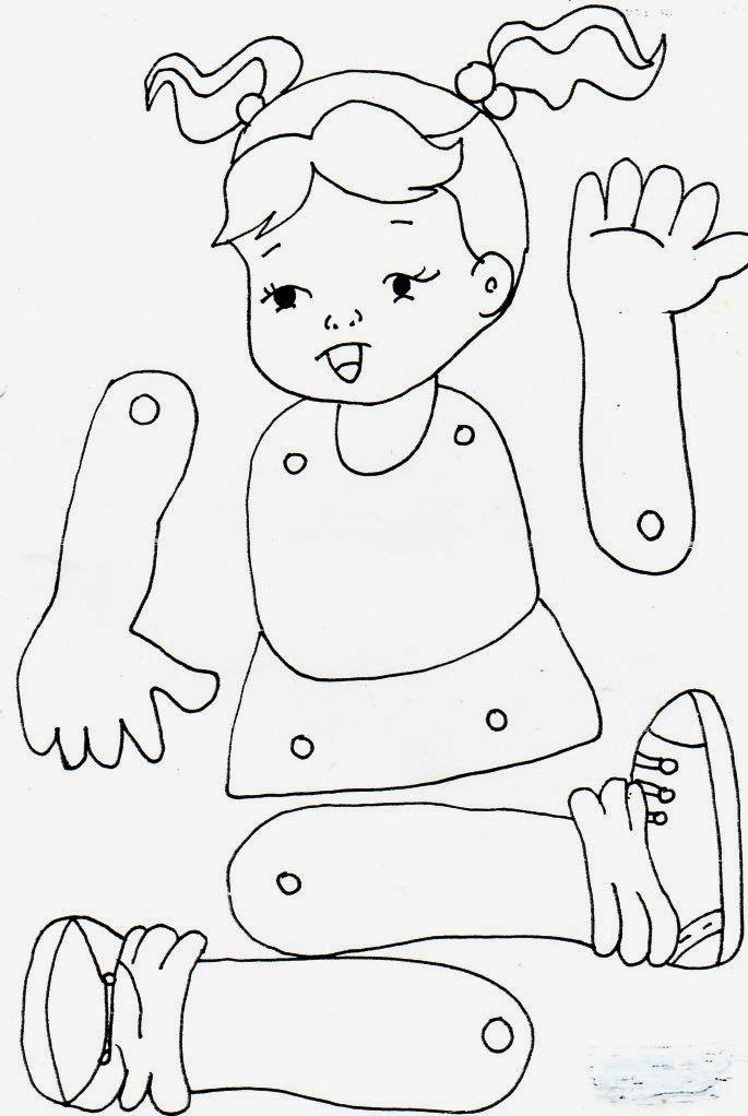 Autoayuda Y Psicologia Manualidades Para Los Ninos Rompecabezas Del Cuerpo Humano El Cuerpo Preescolar Cuerpo Humano Para Ninos