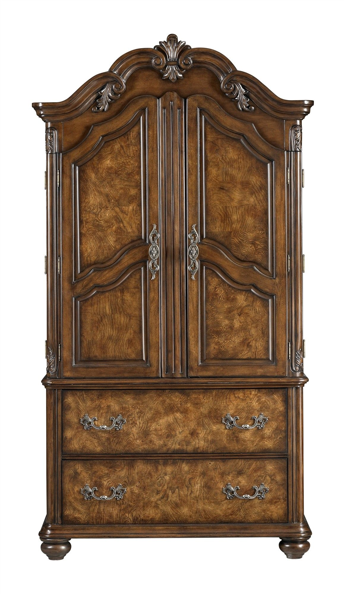 Armoires | Buy Low Price Broyhill Vantana Armoire In Red  Brown (4985 245
