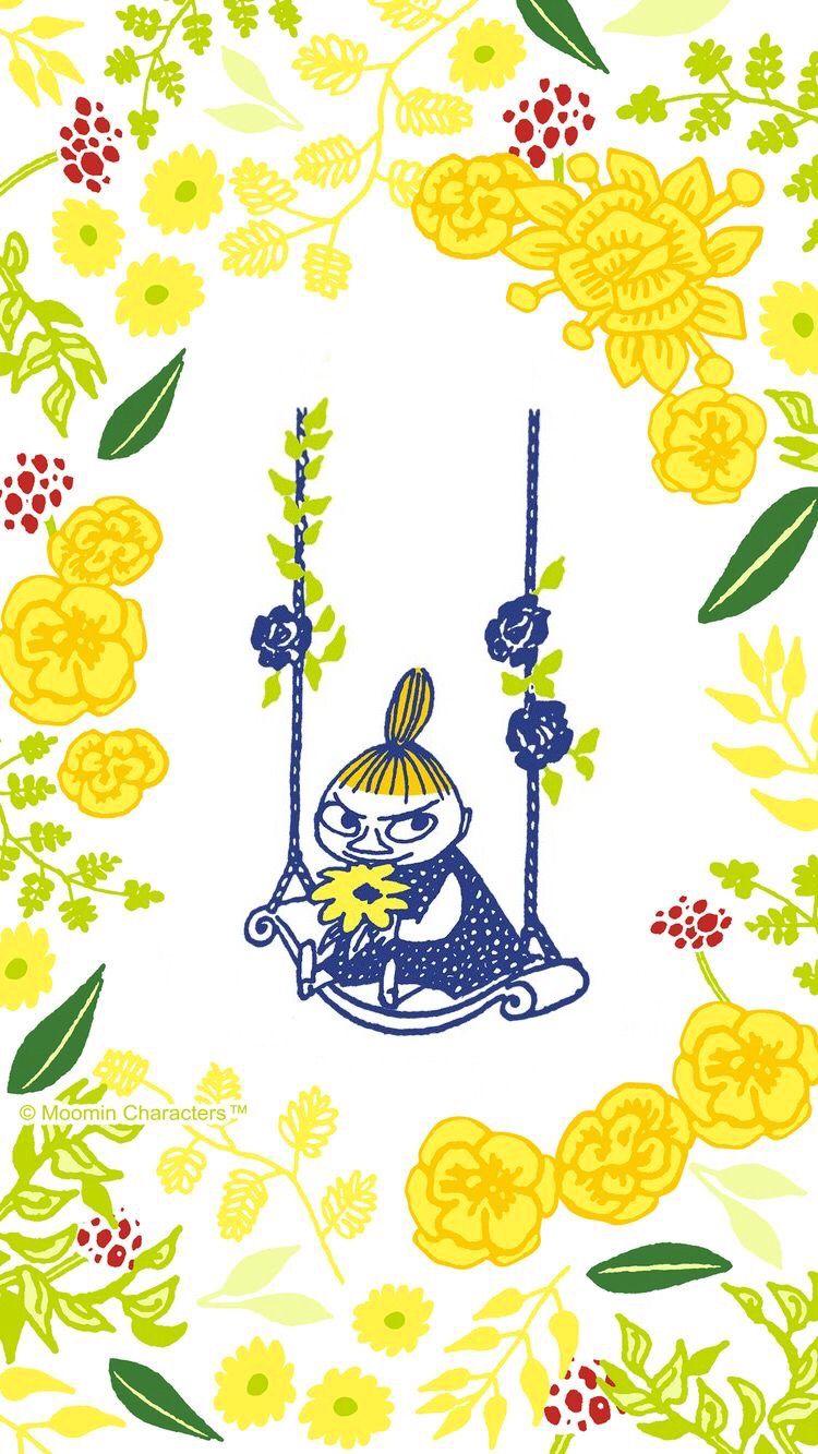 Moomin Little My 刺繍 図案 ムーミン 壁紙 ムーミン イラスト