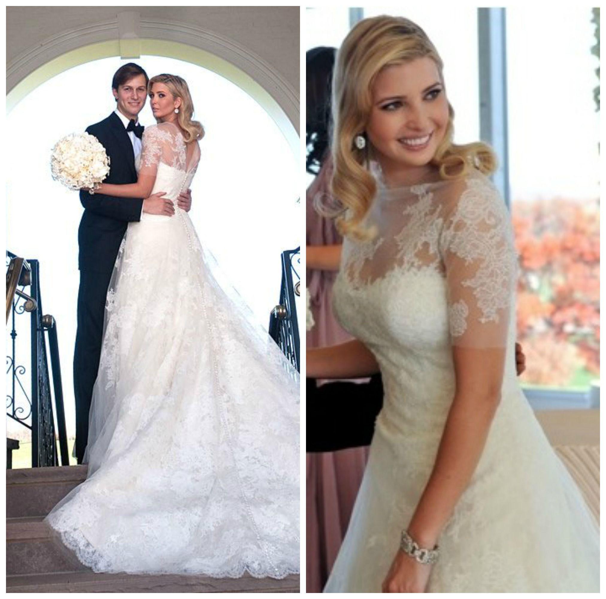 At Her Wedding With Jared Kushner Ivanka Trump Weared Grace Kelly