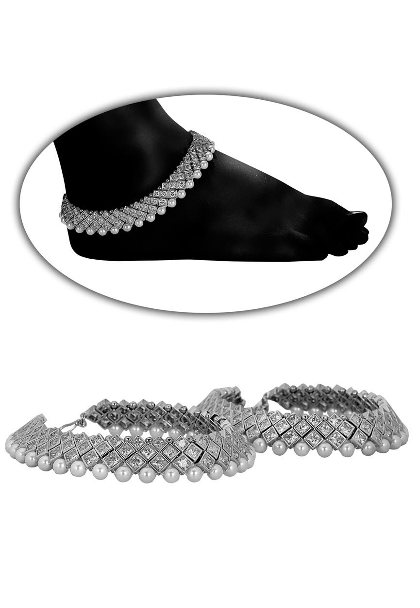 women anklet silver for anklets beautiful shopping online