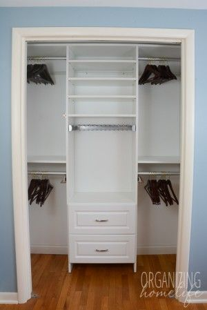 Master Bedroom Closet Organization The Reveal Surprise Announcement Organizing Homelife Small Closet Organization Bedroom Bedroom Organization Closet Master Bedroom Closets Organization