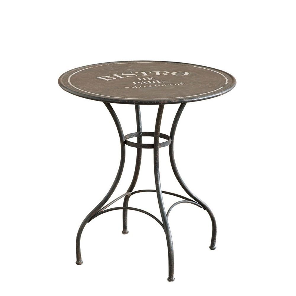 French Bistro Table And Chairs Uk Executive Office Leather Modern Occa Vintage Furniture Metal Home Co
