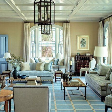 Fresh Victorian Interior Design Living Room