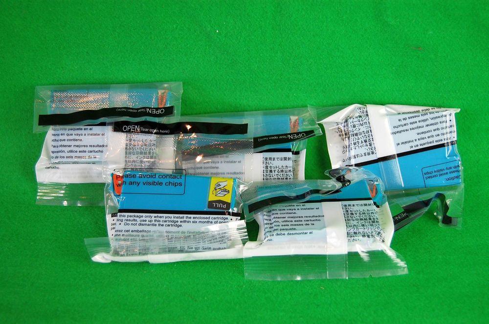 Epson Stylus Office Tinte Ink BX305F S22 SX130 PS1282 5x Cyan Tintenpatrone