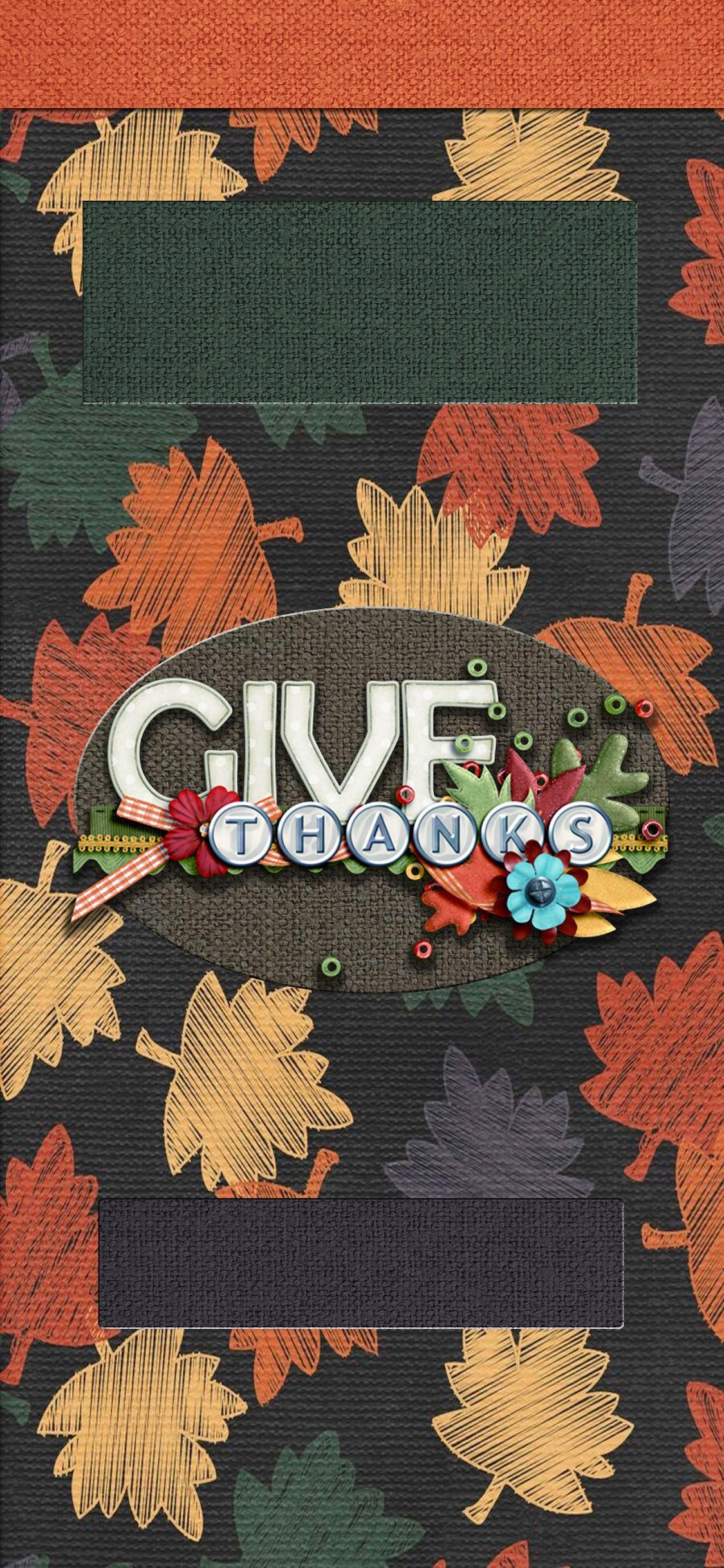 iPhone X Lock Screen Thanksgiving Wallpaper Thanksgiving