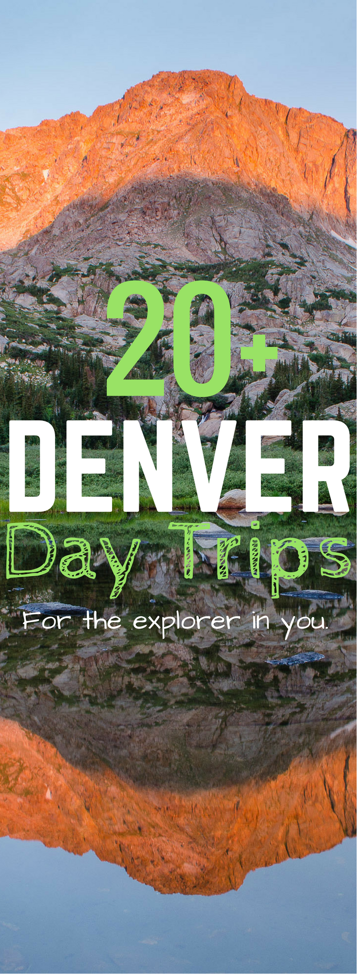 The city is an amazing place to vacation, but getting away from the hustle and bustle for the day is essential! Here is a list of great Denver Day trips to see all that Colorado has to offer!
