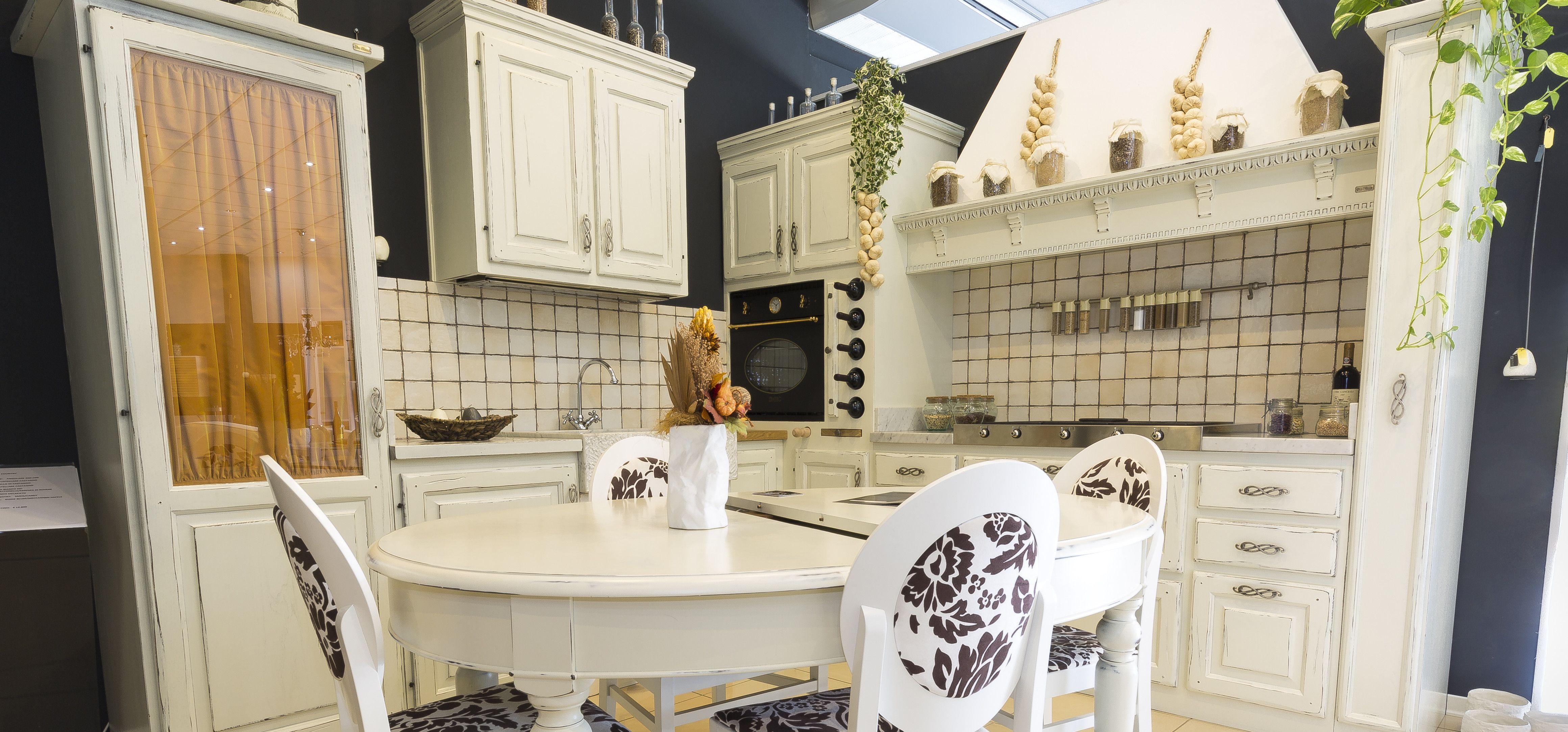 ante legno massello verniciatura bianco cucina con ante in legno ...