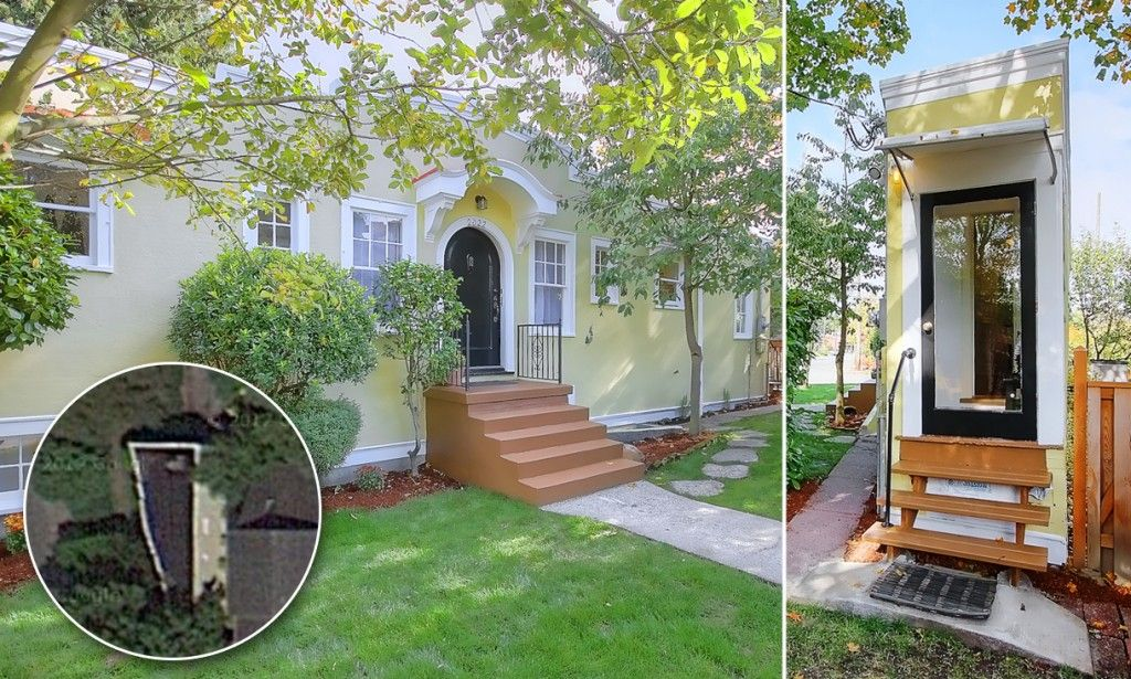Iconic Seattle Spite House Goes Up For Sale Spite House