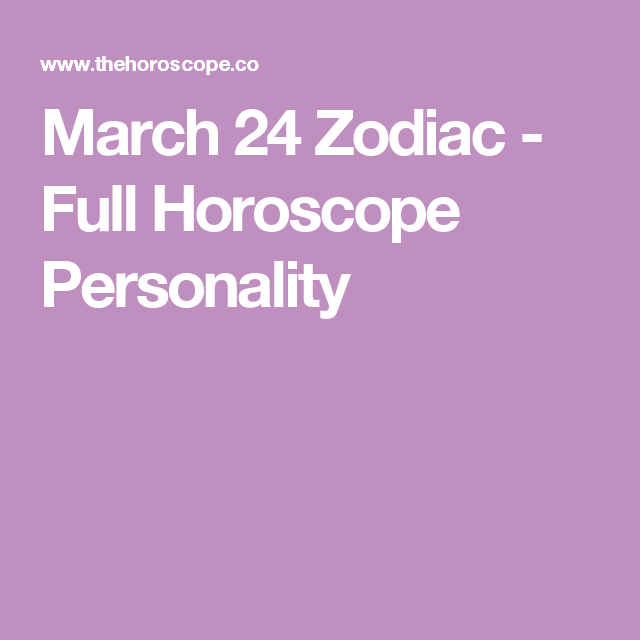 march 24 capricorn horoscope