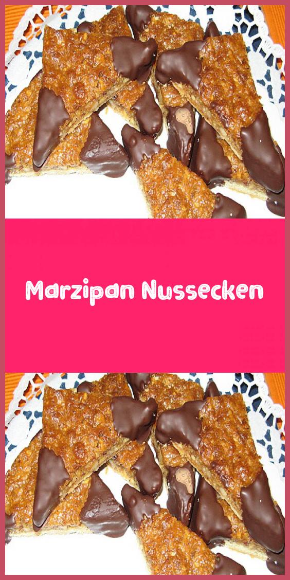 Marzipan Nussecken