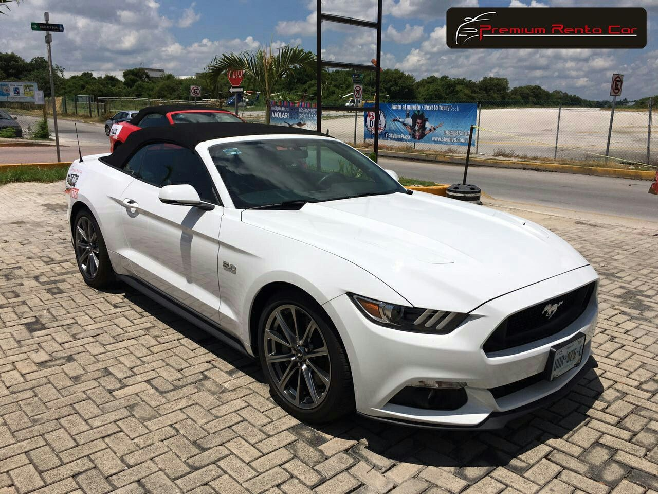 Ford Mustang Gt Cs California Special Convertible 2016 Color Blanco Oxford