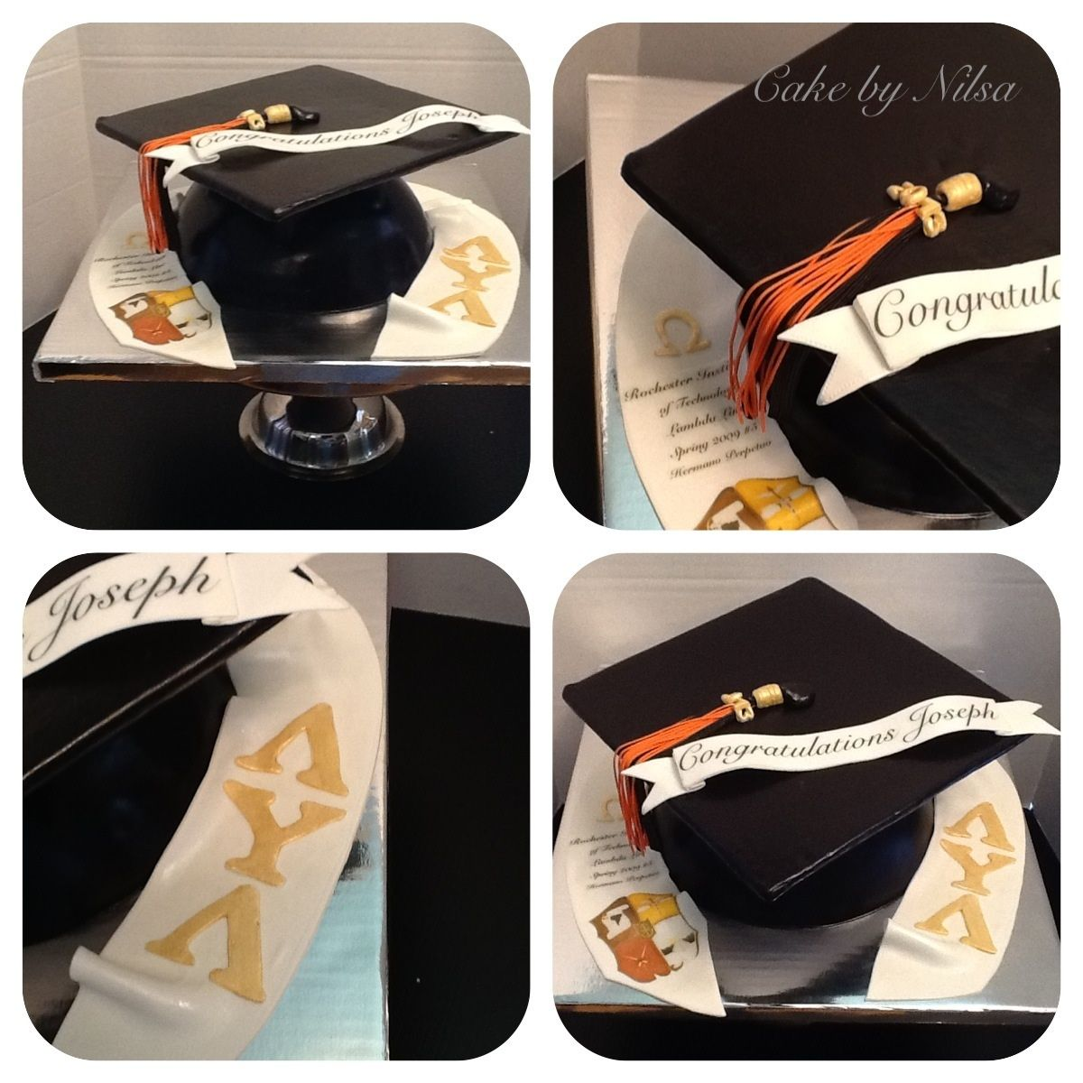 Graduation cake graduation cap cake cap cake