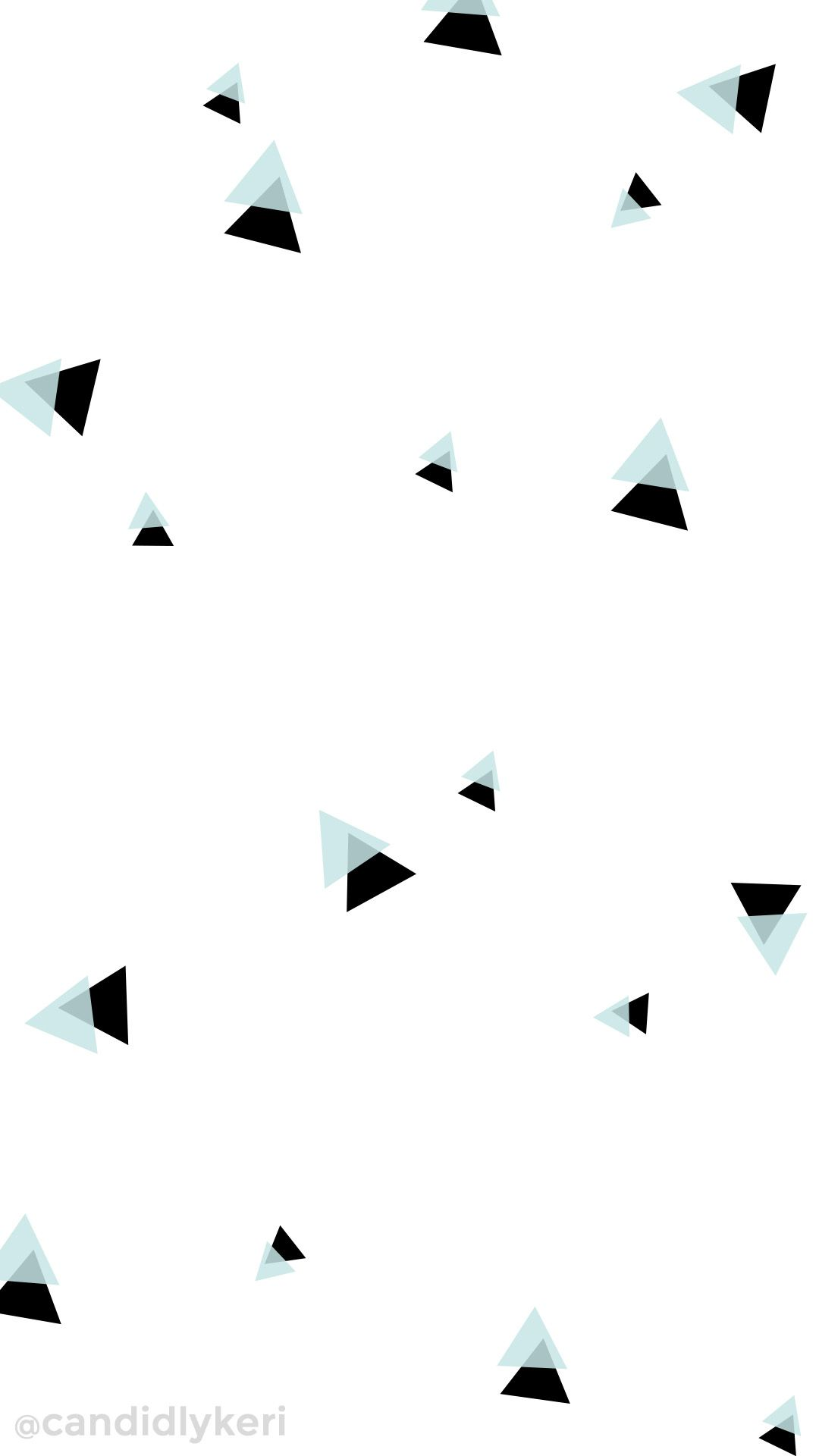 Blue And Black Triangle Geometric Fun Cute Wallpaper You Can Download For Free On The Blog For Any Device Hipster Wallpaper Cute Wallpapers Hippie Wallpaper