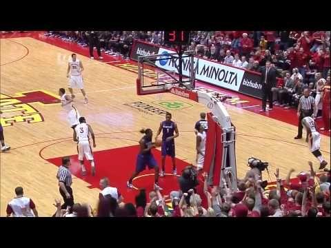 Iowa State Men S Basketball Regular Season Dunk Reel 2013 Iowa