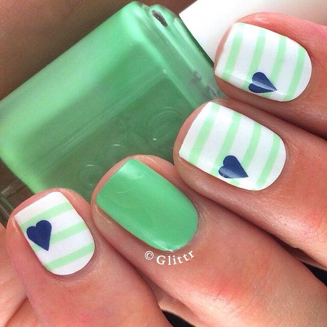 cute nails | Uñas pintadas | Pinterest | Diseños de uñas, Diseños ...