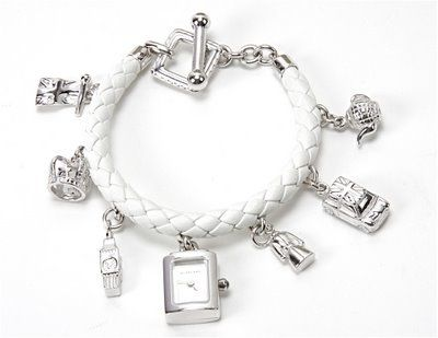 Burberry Silver Charm Bracelet Watch Must Haves