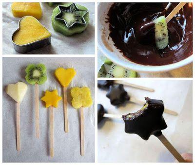 Suklaa-hedelmätikkarit / ekoloinen