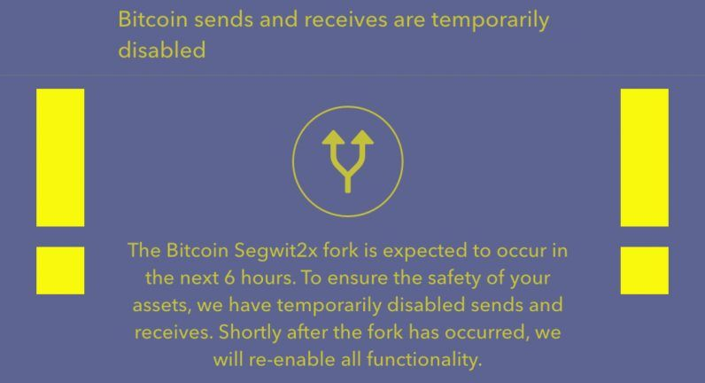 Crypto exchange desks freeze bitcoin trading ahead of segwit2x hard crypto exchange desks freeze bitcoin trading ahead of segwit2x hard fork ccuart Image collections