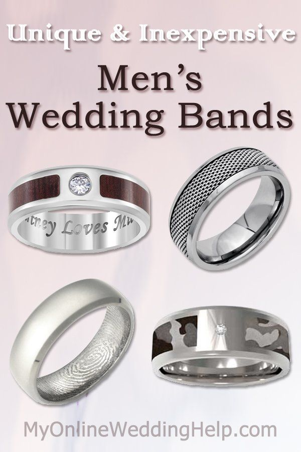 Top 5 Tips For Finding Chic Affordable Wedding Rings Inexpensive Mens Wedding Bands Mens Wedding Bands Unique Mens Wedding Rings Unique