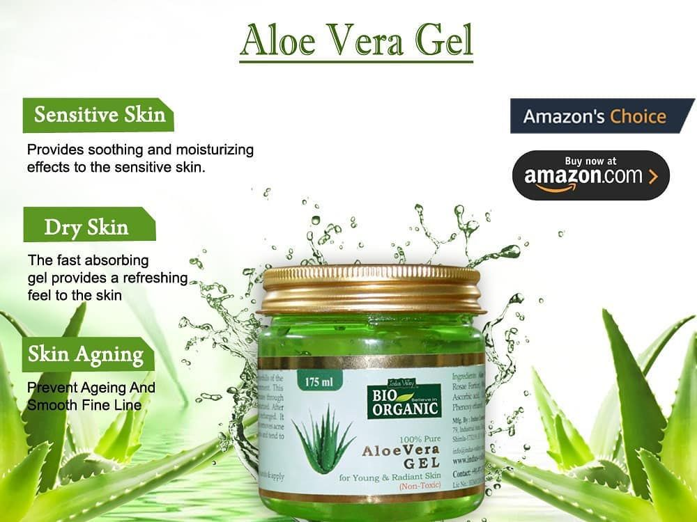 Aloevera Gel Is An Essential For Daily Self Care It Is An Amazon Choice Product Which Works Wonder For Your Skin Buy Aloe Vera Gel Aloe Vera Skin Treatments