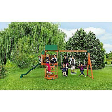 Sears Com Swing Set Balcony Backyard Play