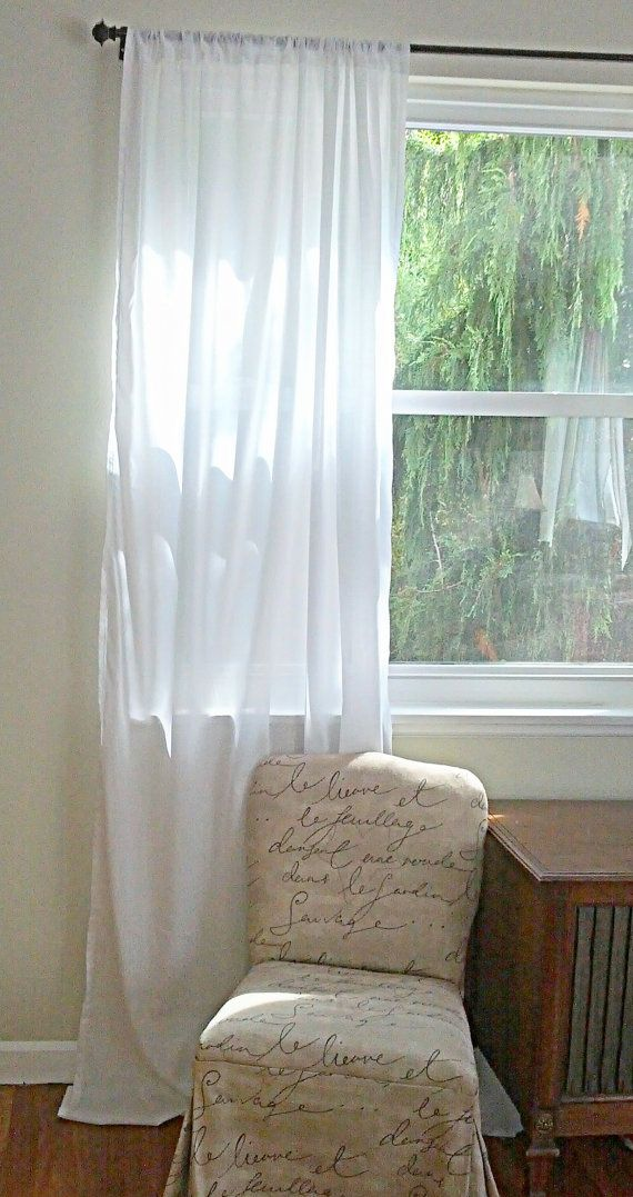 These Beautiful Handmade Batiste Cotton Curtains Will Give Your