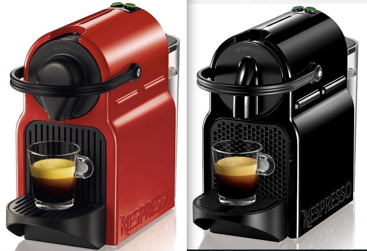 Nespresso Inissia Espresso Maker Coffee Machine Black or
