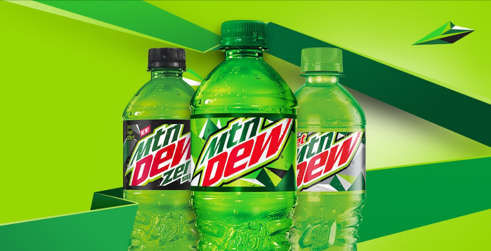 Mtn Dew Mtn Dew Mountain Dew Beverage Can Canning