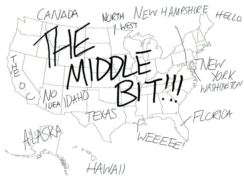 British people naming US states -- I especially like the one where ...