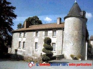 Manoir Du Xviie Siecle Entoure De Douves En Eau Surface Habitable 500 M2 Maison De Gardien De 75 M2 Garage 4 Voitu Vente Immobilier Le Manoir Poitou Charentes