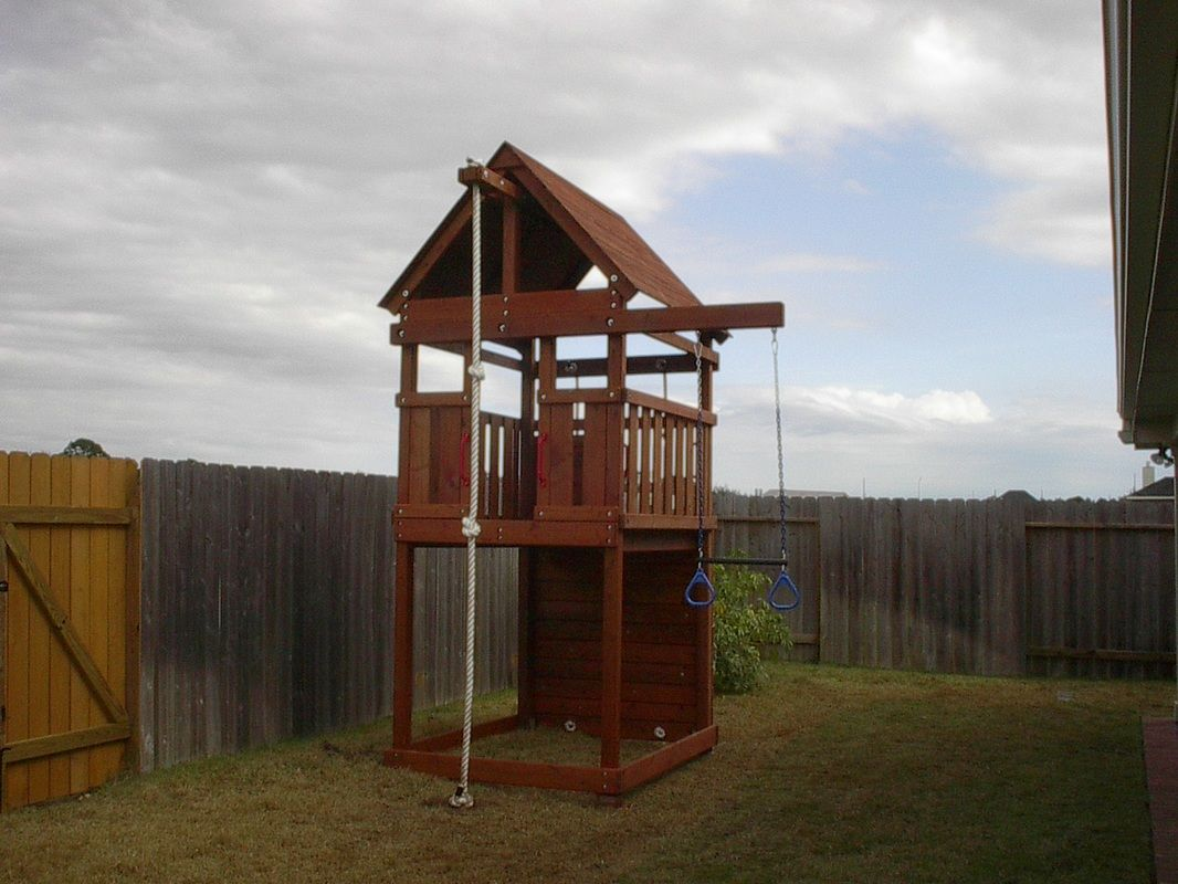 How to Build DIY Wood Fort and Swing Set Plans From Jack's ...