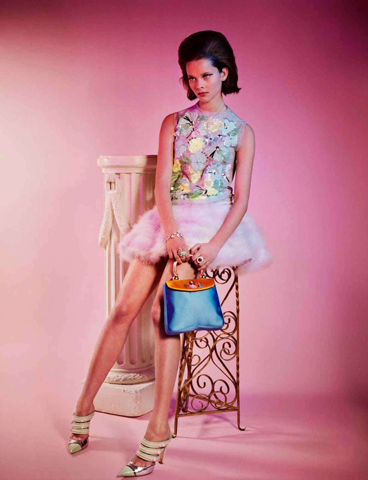 visual optimism; fashion editorials, shows, campaigns & more!: anouk de heer by mark kean for wonderland february/march 2012