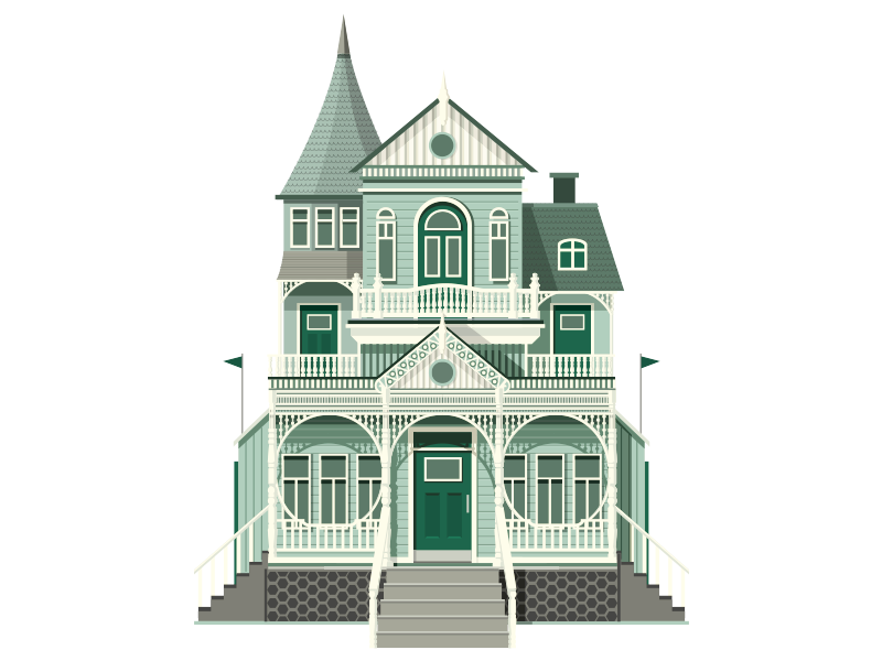 Exceptionnel Contemporary Illustrations · A House A Day Project  12
