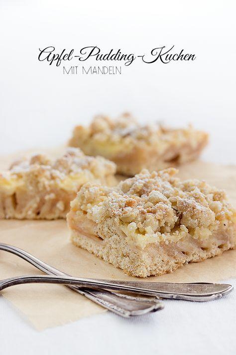 Apfel Pudding Kuchen Sweets Apple Pinterest Kuchen Cake And