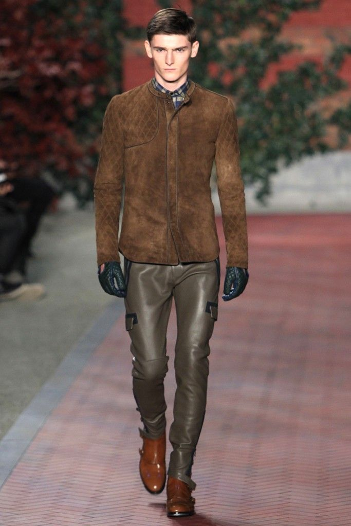 a01aebeb9 Tommy Hilfiger Men's RTW Fall 2012 | A Gentleman's Attire | Leather ...