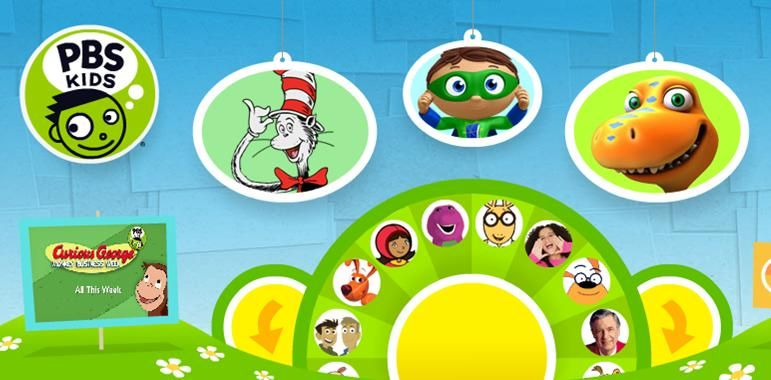 PBS Kids--this is certainly one of the better sites for children ...