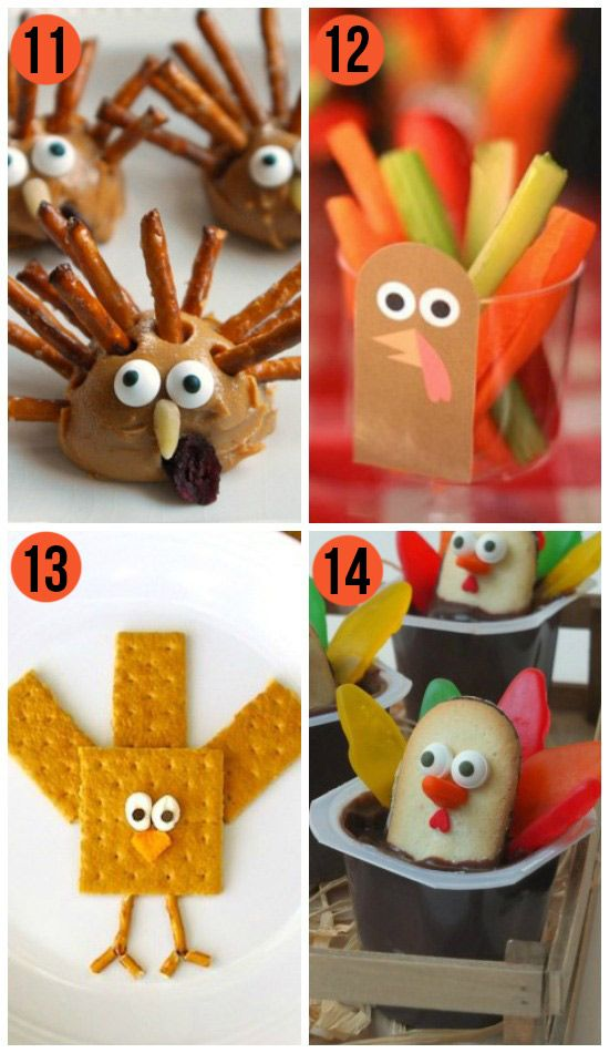 50 Fun Thanksgiving Food Ideas Turkey Treats