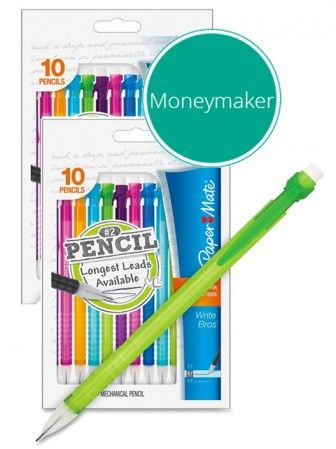 Better Than Free Paper Mate Mechanical Pencils At