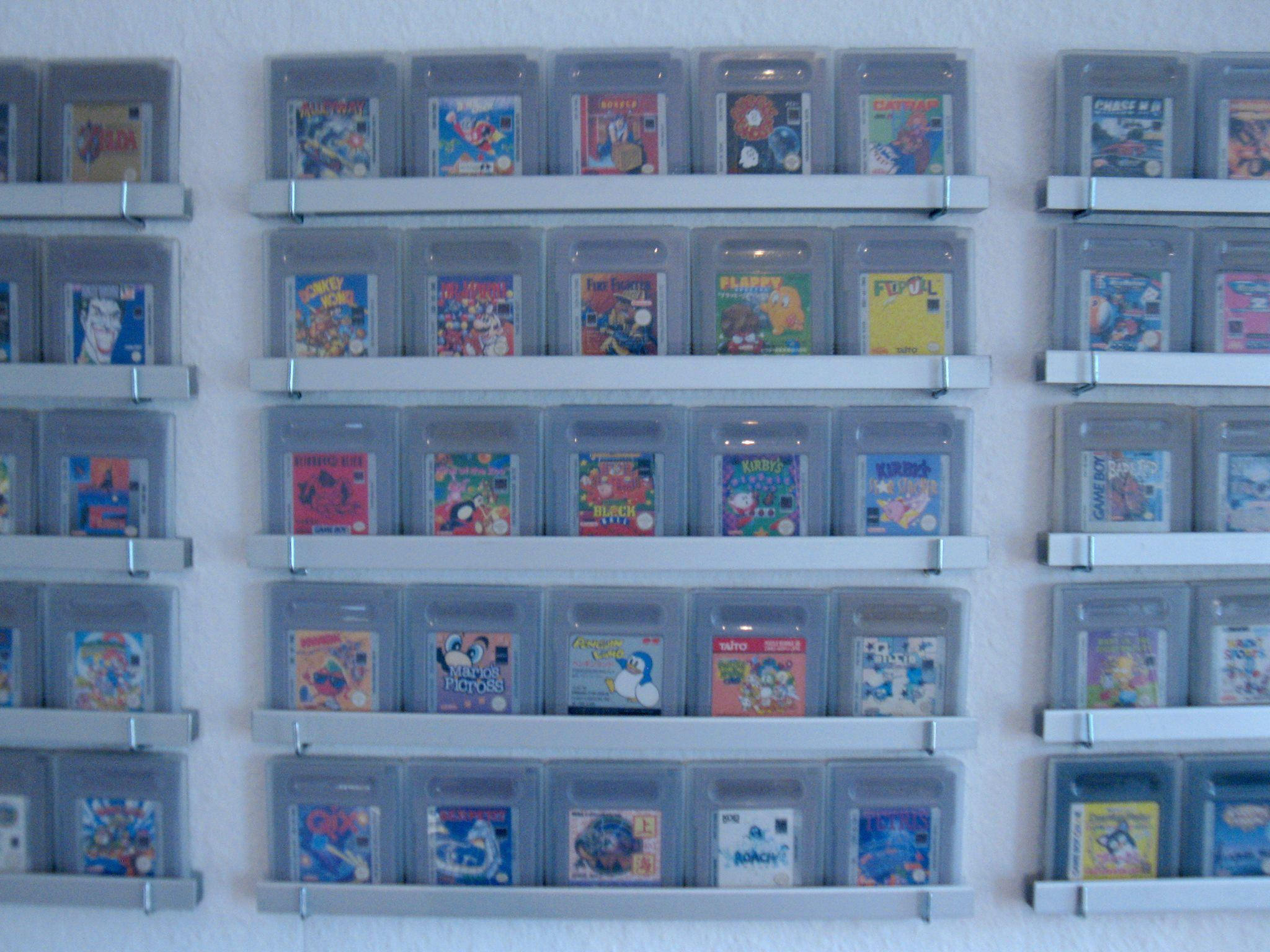 Gameboy Games Wall by Tronimal!