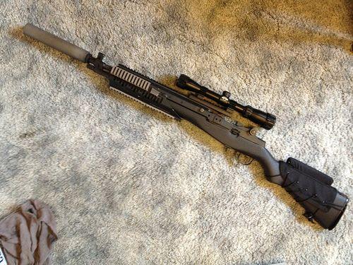 For Sale: SA Socom 16/II Suppressor Ready - M14 Forum   Guns