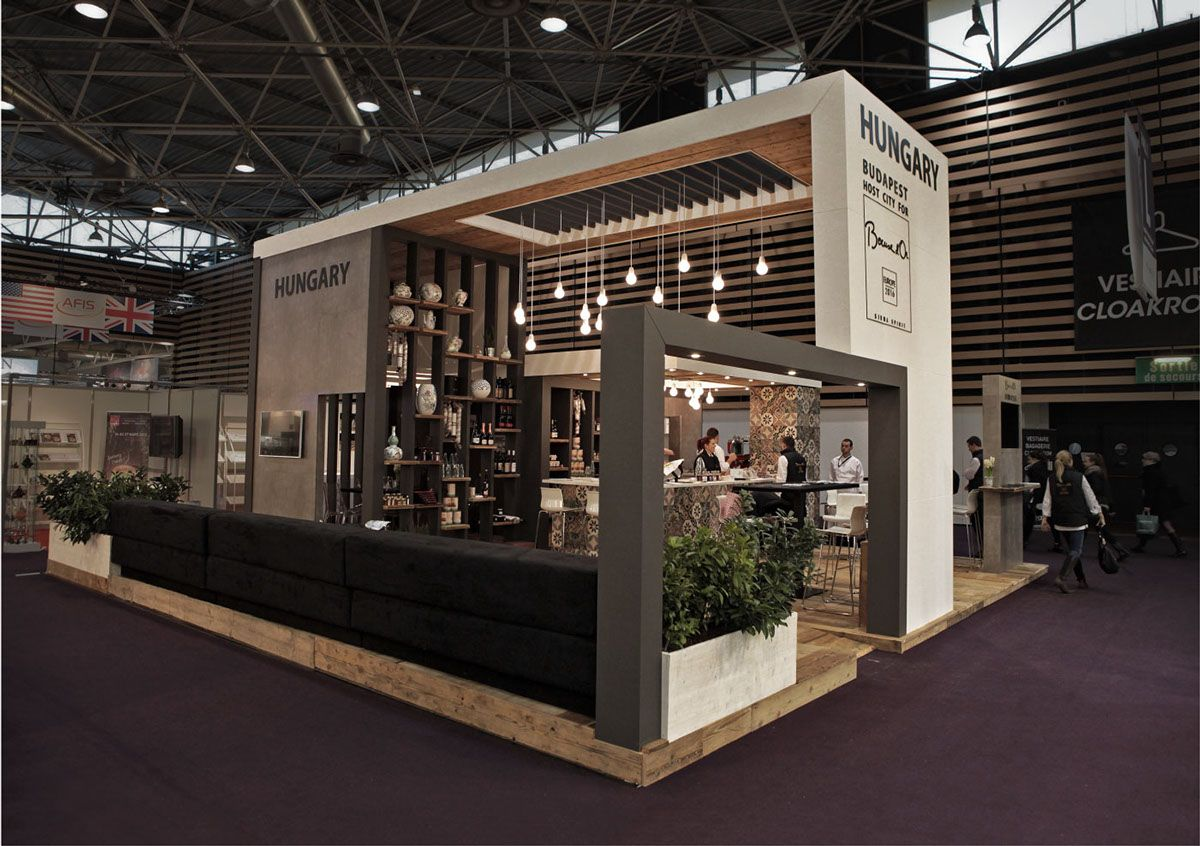Exhibition Stand Wood : Hungarian national stand at sirha lyon on behance