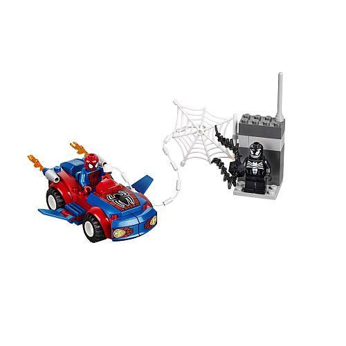 """LEGO Juniors Spider Man's Spider Car Pursuit (10655) - LEGO - Toys""""R ..."""