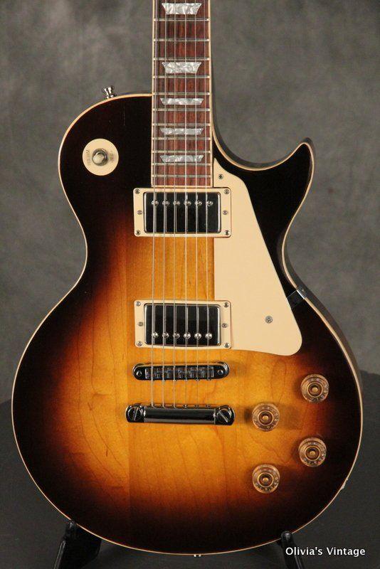 Gibson Les Paul Standard 1980 Tobacco Sunburst Gibson Les Paul Gibson Guitars Les Paul